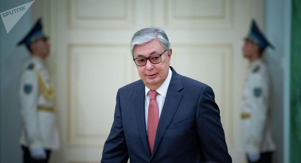 Касым-Жомарт Токаев - президент Казахстана