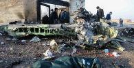 Украинский лайнер со 180 пассажирами рухнул у тегеранского аэропорта. Фото с места трагедии