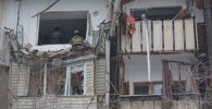 В многоэтажном доме обрушилась стена из-за взрыва газа