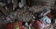 Как выглядят разрушенные квартиры после взрыва газа в Каскелене - видео