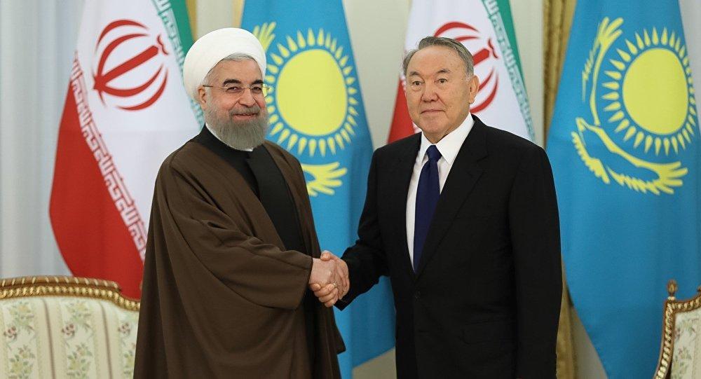 Нурсултан Назарбаев встретился спрезидентом Ирана Хасаном Рухани