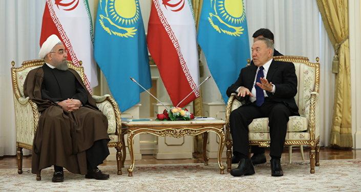 Иран президенті  Хасан Роуханидің Қазақстанға сапары