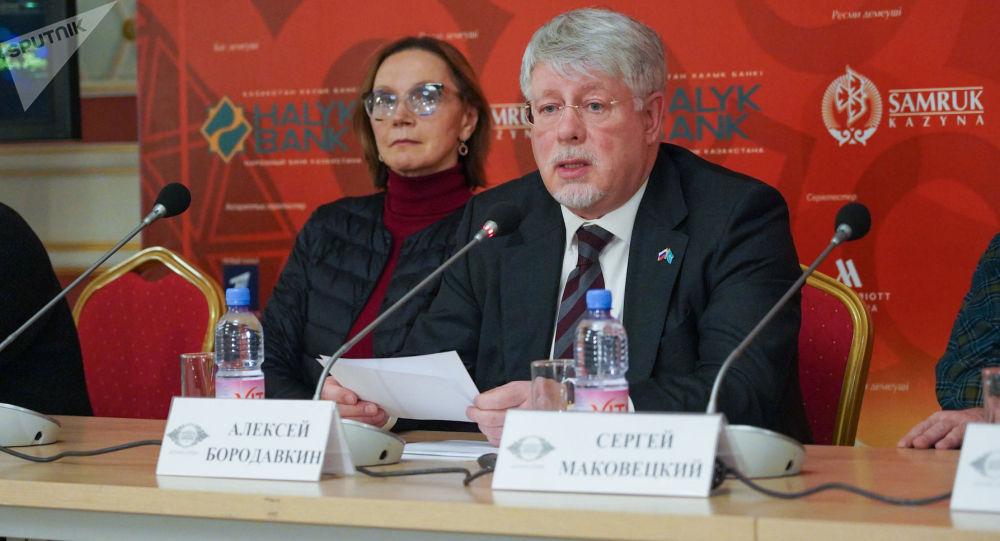 Пресс-конференция театра Вахтангова
