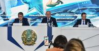 Заявление комиссии по крушению самолета Bek Air в Алматы - видеотрансляция