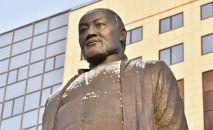 Памятник Абаю Кунанбаеву в Нур-Султане