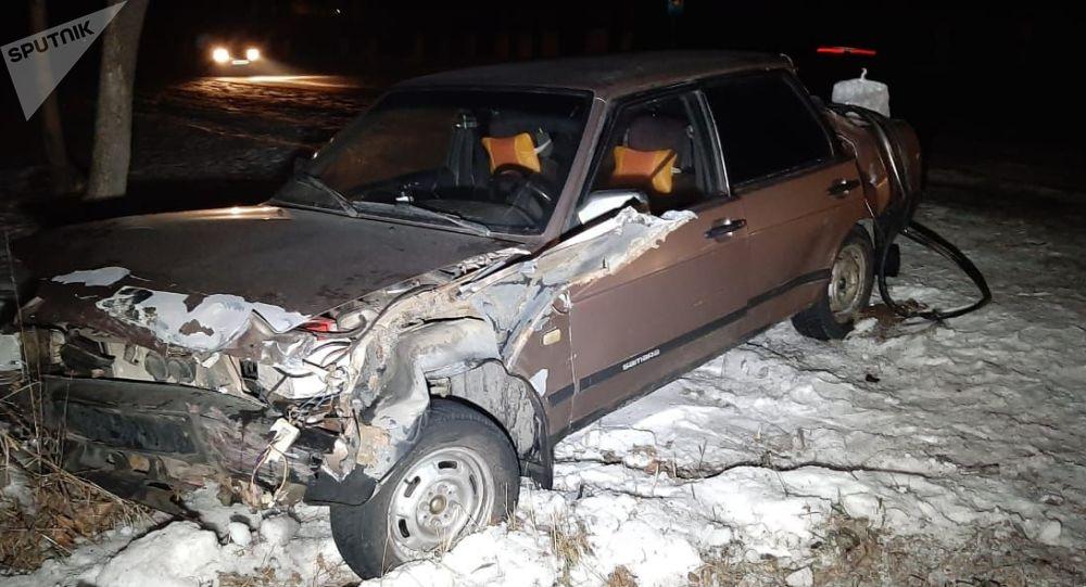 Массовая авария на Кульджинском тракте, 13.01.2020