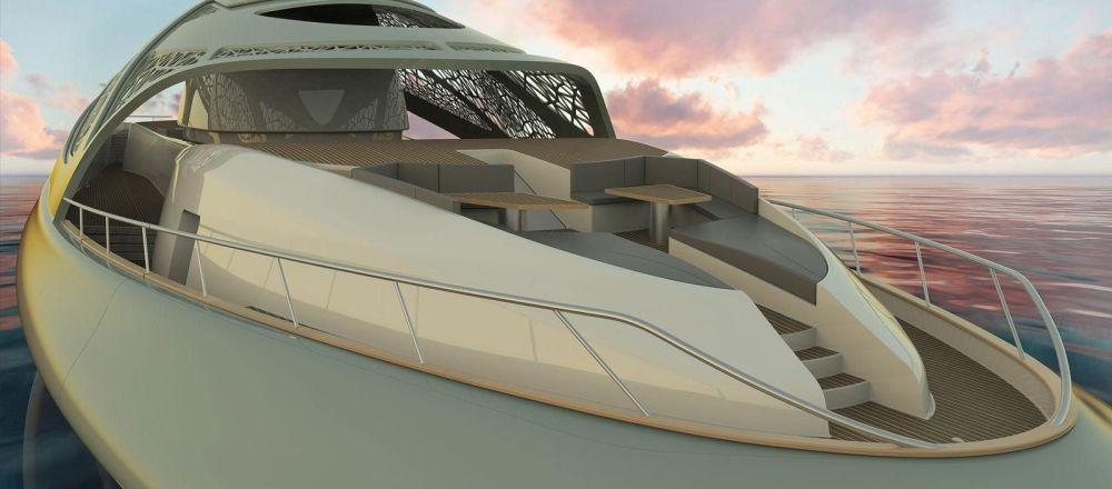 Итальянский архитектор представила концепт супер-яхты будущего
