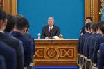 Қасым-Жомарт Тоқаев Ақордада президенттік жастар кадрлық резервінің өкілдерімен кездесті