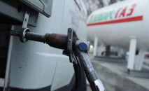 Газозаправочная станция, архивное фото