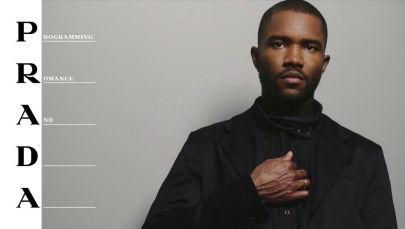 Музыкант Фрэнк Оушен стал новым лицом марки и снялся в рекламной кампании весенне-летней коллекции Prada