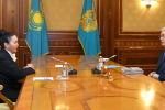 Роза Муканова рассказала президенту о деятельности Казахского национального университета искусств по подготовке молодых специалистов