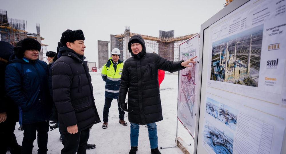 Самую большую мечеть в Центральной Азии строят в Нур-Султане