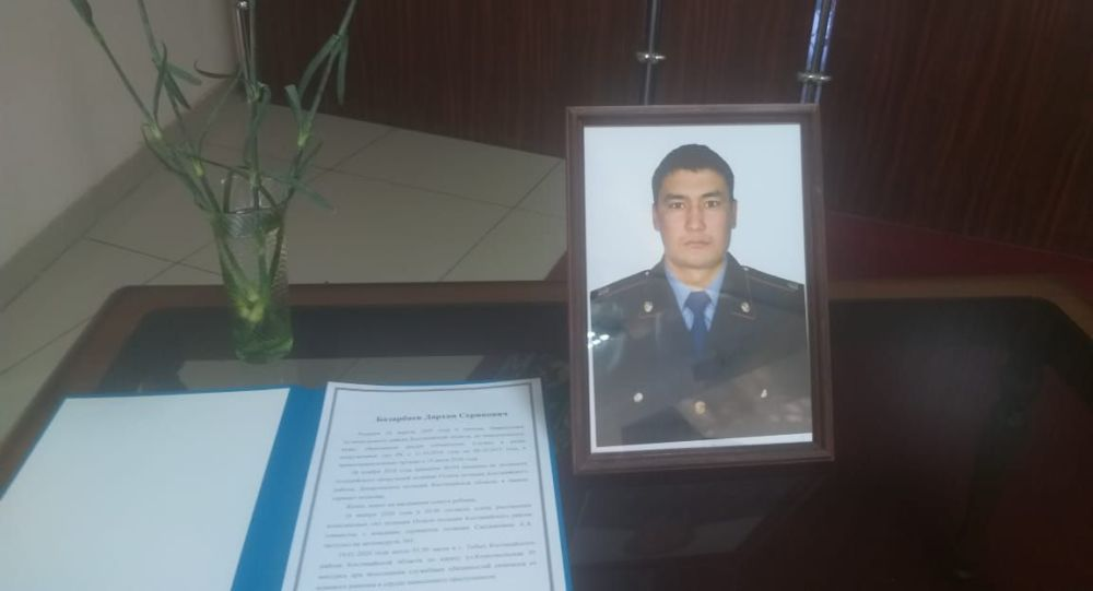 сержант Дархан Базарбаев