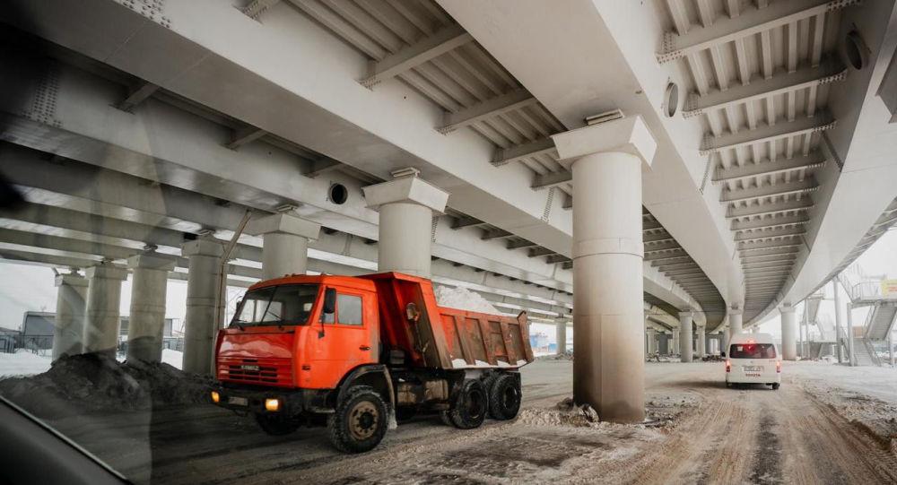 Путепровод №2 (горбатый мост) в Нур-Султане