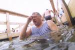 Тысячи астанчан окунулись в прорубь на Крещение