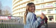 Девочка-вундеркинд готовится выступить на Олимпиаде-2020 в Токио