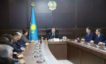 Аскар Мамин представил нового акима Павлодарской области
