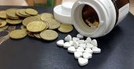 Таблетки, медикаменты, лекарства