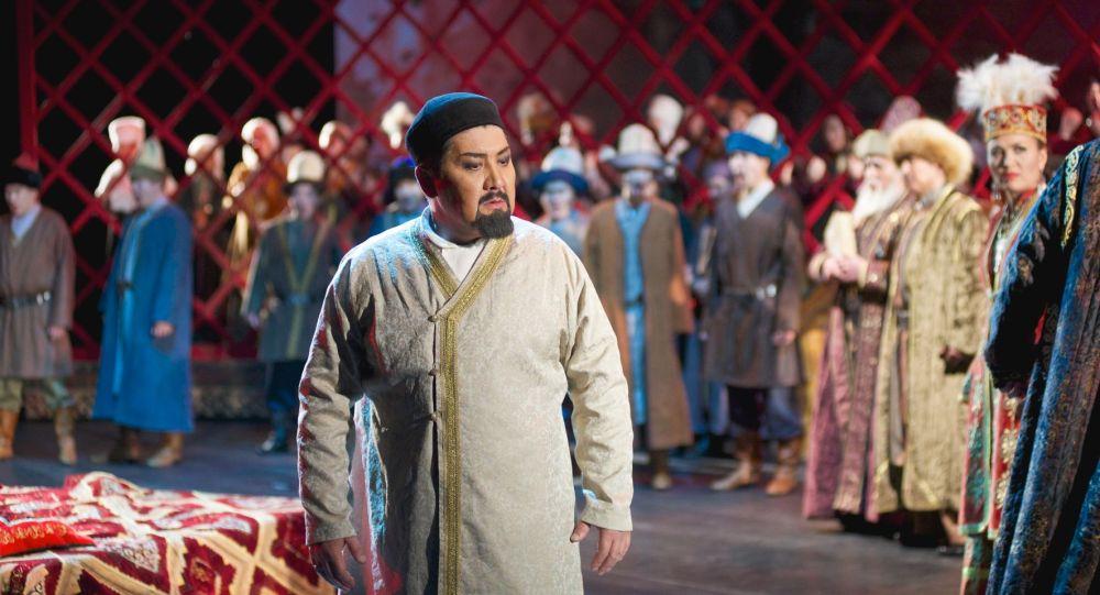 Опера Абай Ахмета Жубанова