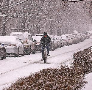 Алматы в снегу