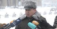 Полковник гражданский защиты, начальник департамента по чрезвычайным ситуацим города Нур-Султан Сыздыков Бауыржан