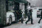 Аномальные снегопады в Нур-Султане