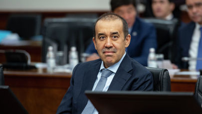 Глава КНБ Карим Масимов на заседании правительства