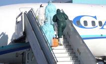 Учения в аэропорту Алматы