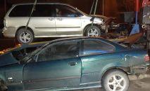 Тройная автоавария на ул. Лавренева