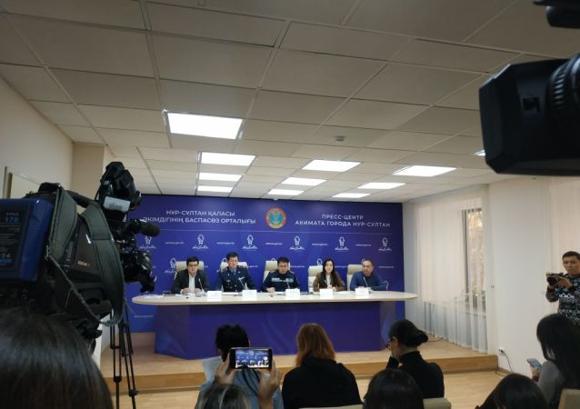 В пресс-центре акимата столиц прошла пресс-конференция о мерах, принимаемых в связи с резким ухудшением погоды