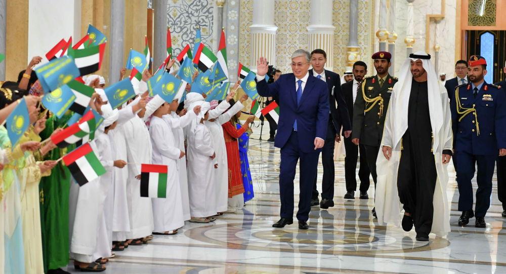 Глава государства Касым-Жомарт Токаев провел переговоры с Наследным принцем Абу-Даби шейхом Мухаммедом бен Заидом Аль Нахаяном