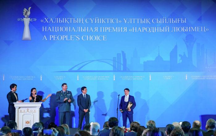 Премию «Народный любимец»-2020 впервые вручили иностранцу