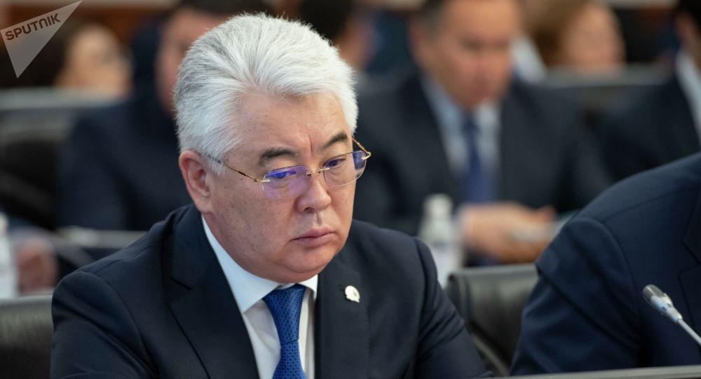 Министр индустрии и инфраструктурного развития Атамкулов Бейбут Бакирович
