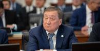 Министр сельского хозяйства Омаров Сапархан Кесикбаевич