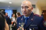 Заместитель председателя комитета административной полиции Серик Тусупов