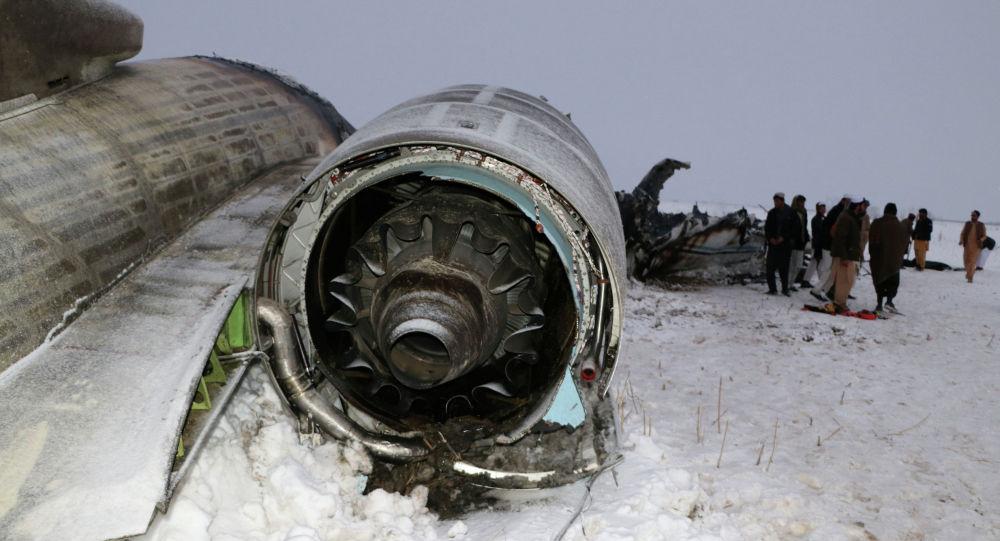 Авиакатастрофа на востоке Афганистана в районе Дех Як