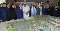 Глава государства ознакомился с ходом подготовки к выставке ЭКСПО-2020