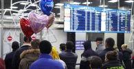 Время прибытия самолета переносили три раза