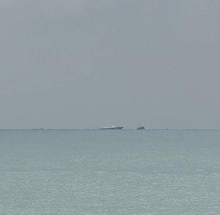 Латакияға ұшқан Ту-154 ұшағы құлаған жерден алғашқы кадрлар