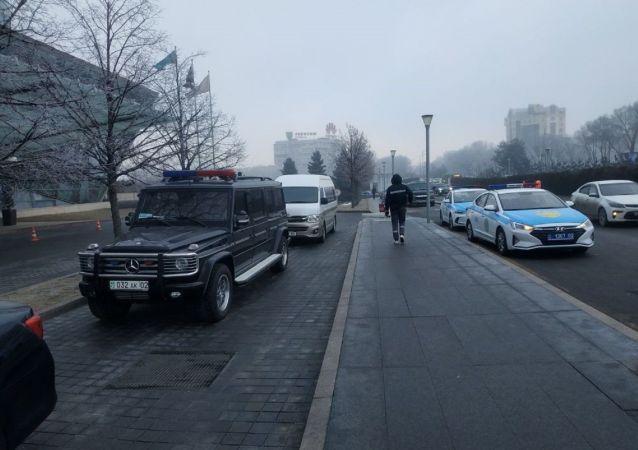 Авто полицейских в Алматы