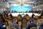 Селфи с Мишустиным и проводы Саркисяна – видео со встречи премьеров ЕАЭС в Алматы