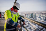 Строительство Абу-Даби Плаза в Нур-Султане