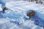 Трассы в Казахстане замело снегом