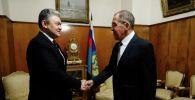 Лавров Қазақстанның Ресейдегі жаңа елшісімен кездесті