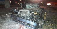 Столкновение авто со смертельным исходом по ул. Толеби