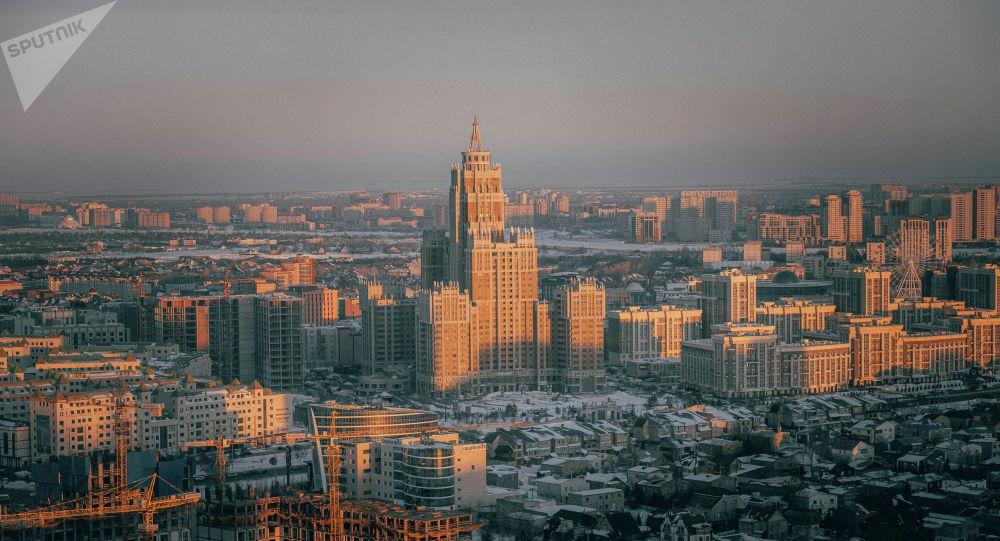 Виды Нур-Султана, город сверху