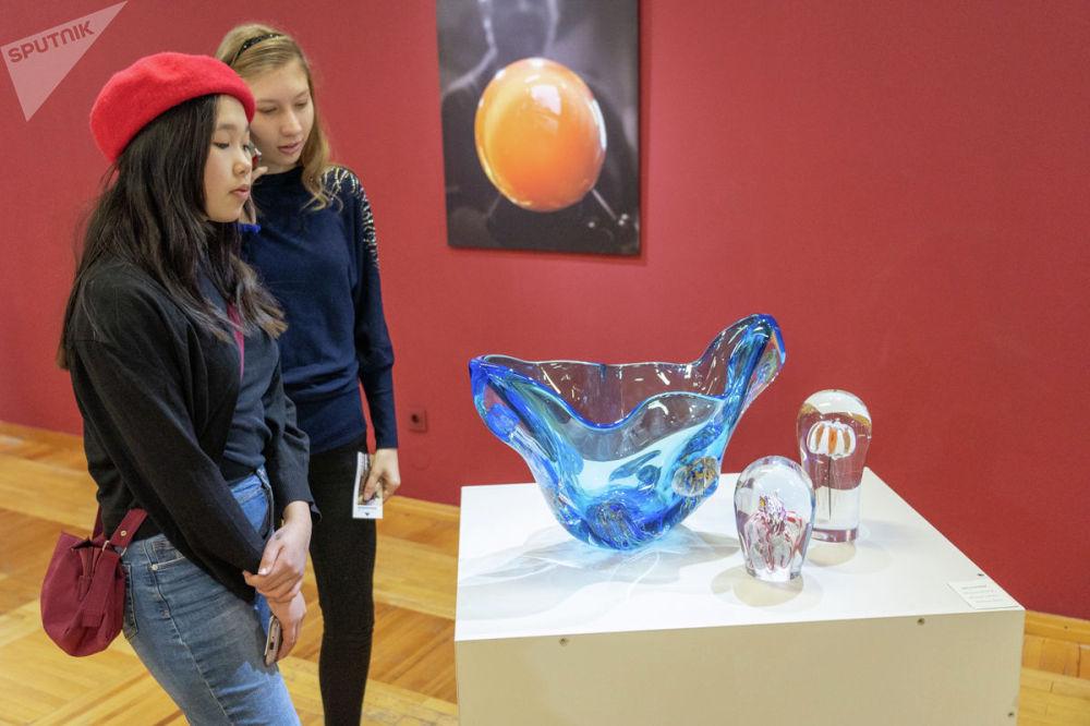 Выставка Чешского стекла