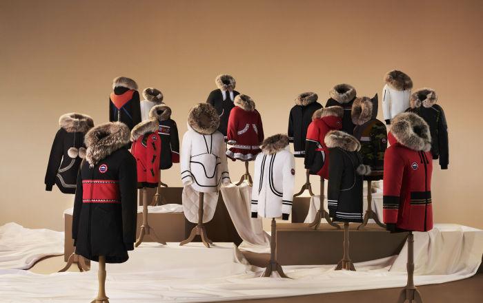 Canada Goose представил коллекцию утепленных курток, созданную вместе с коренными жителями Северной Америки