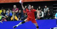 Женская команда Казахстана по гандболу