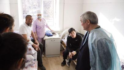 Бердібек Сапарбаев бастаған комиссия Қордайға барды